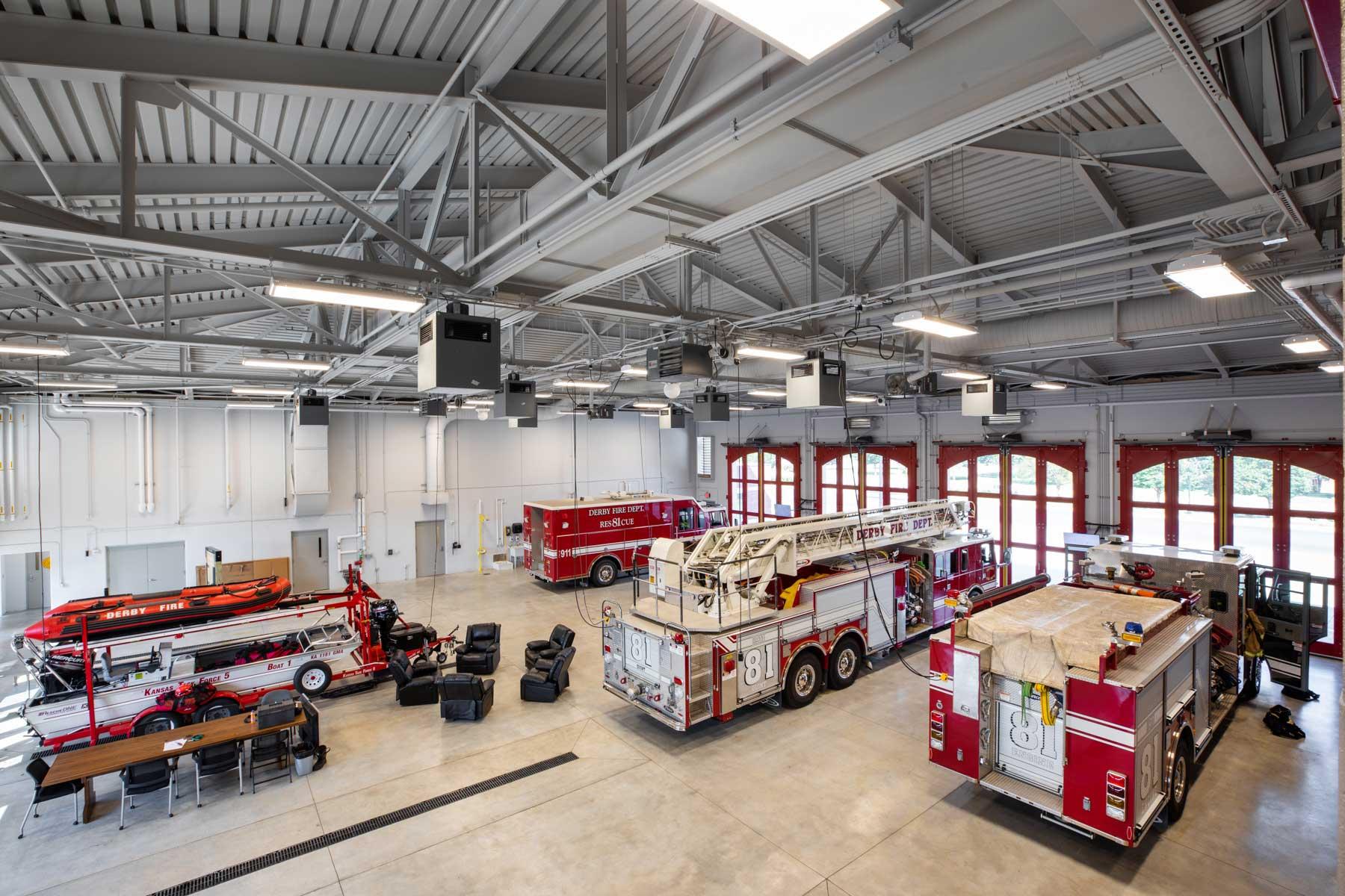 Derby Fire Station Garage