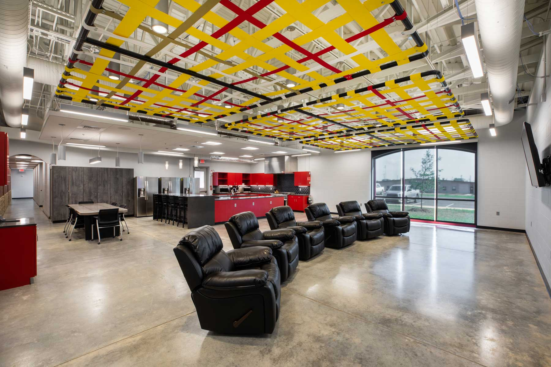 Derby Fire Station Living Area