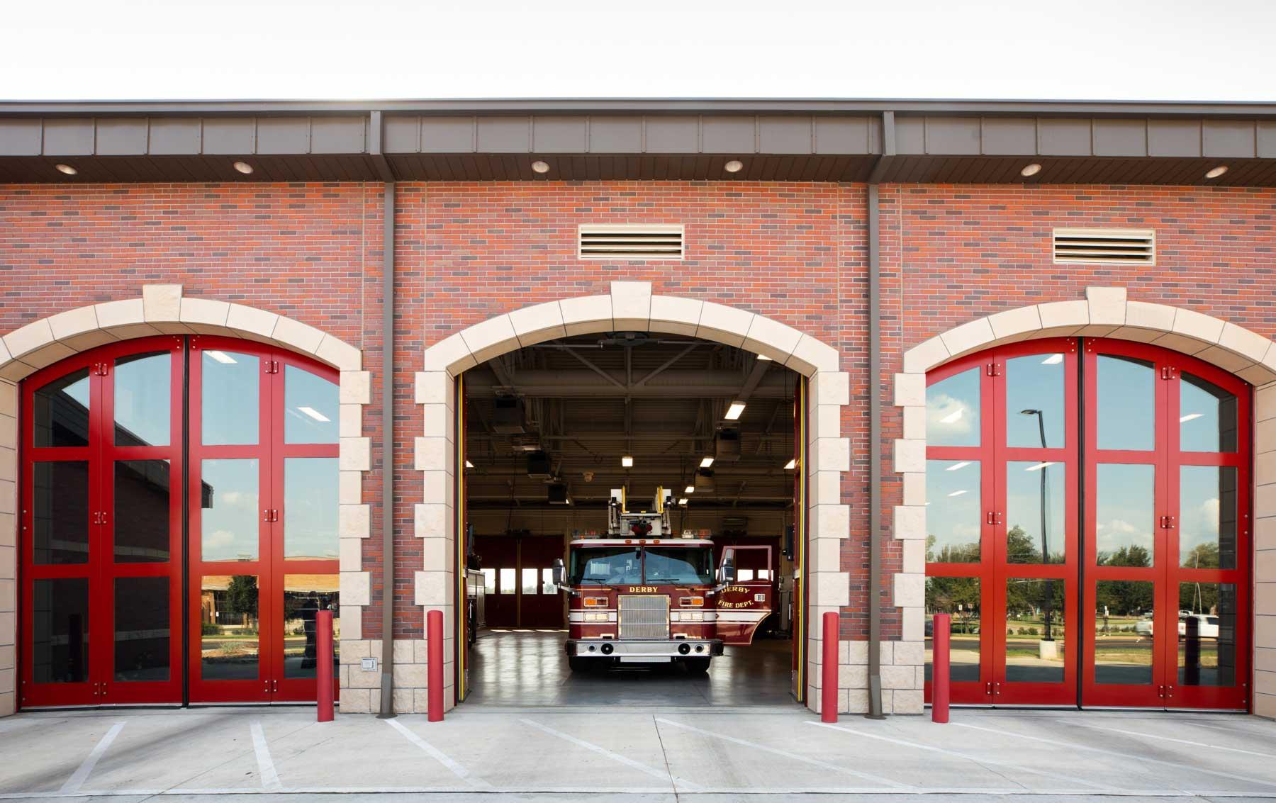 Derby Fire Station Doors
