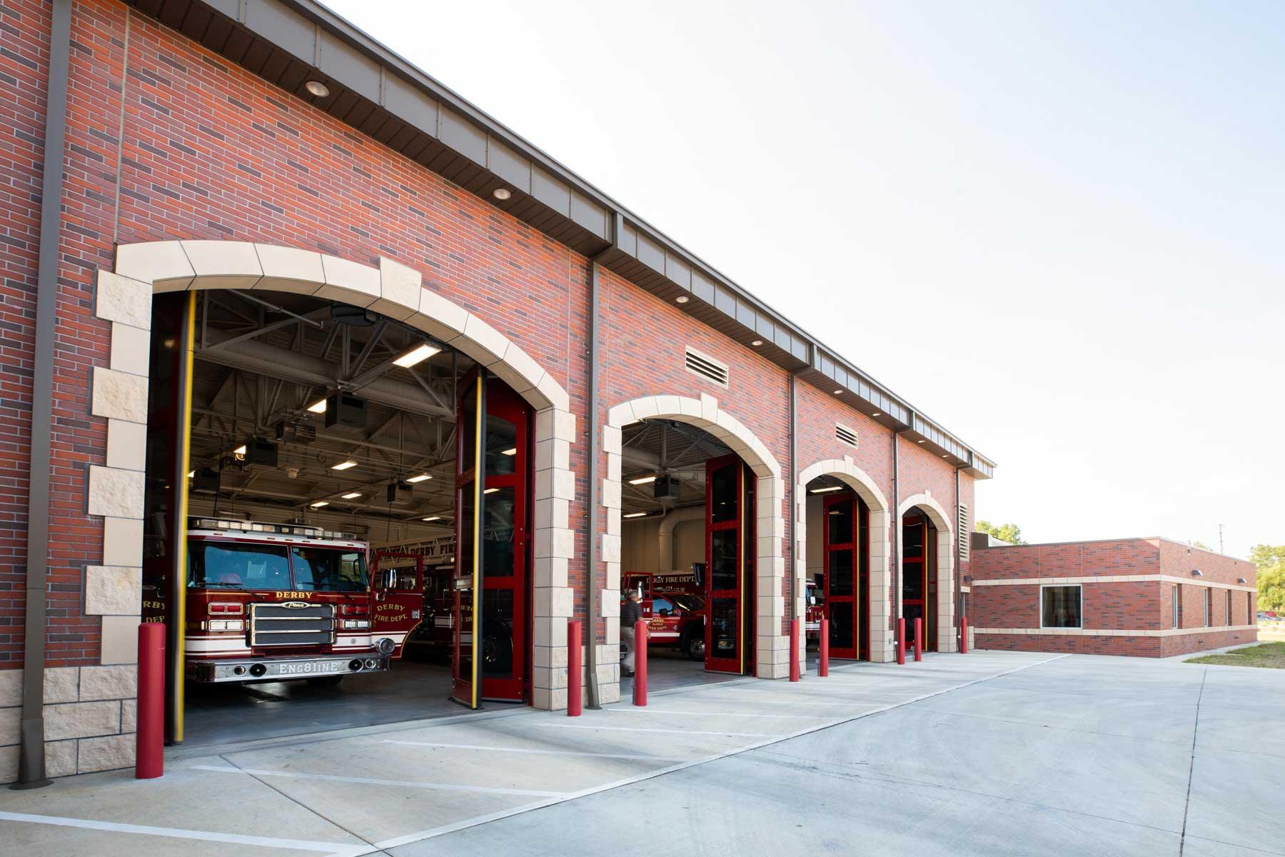 Derby Fire Station Exterior Doors