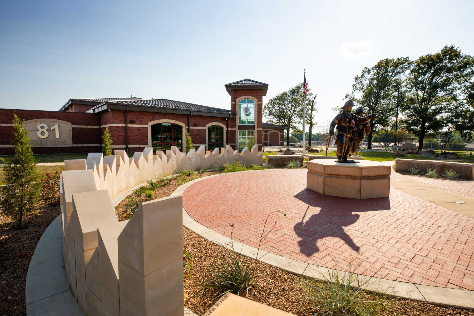 Derby Fire Station Memorial Square